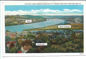 Ashland, KY - Tri-State View (Ohio, West Virginia, Kentucky)