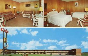Canada - Manitoba. Brandon, 1 & 10 Motel