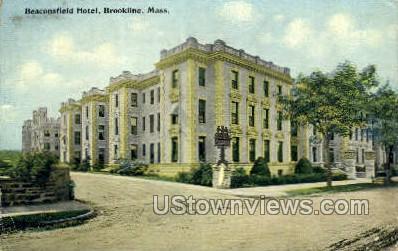 Beaconsfield Hotel Brookline Ma 1912