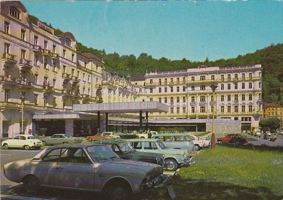 Czech Republic Karlovy Vary Grand Hotel Moskva-Pupp