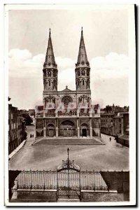 Old Postcard Macon L Eglise Saint Pierre