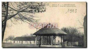 Old Postcard Kiosk Chambaran NCOs Mess