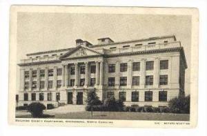 Guilford County Courthouse, Greensboro, North Carolina, 20-40s