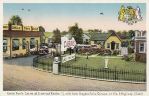 NIAGARA FALLS , Ontario , Canada , 1910s ; Uncle Tom Cabins