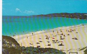 Bermuda Castle Harbour Hotel Beach Scene