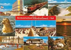 Nordseeheilbad Westerland Sylt, Locomotive Train Konzert Strand Schwimmbad