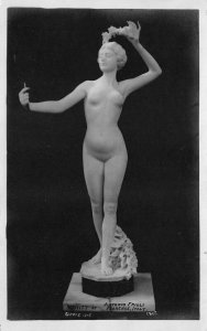 Panama Pacific International Expo Vanity Nude Real Photo Postcard