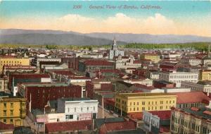 Eureka California~Birdseye: Stores~Business~Humboldt~Clothing~Rooftops~1910