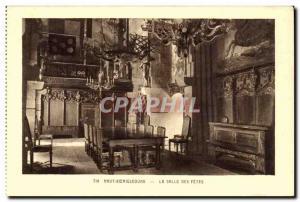 Haut - Koenigsbourg - Visit to the Castle - Alsace - Old Postcard