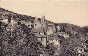 Vue Generale, Conques (Aveyron), France, PU-1969