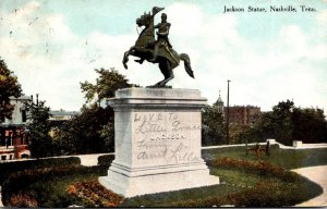 Tennessee Nashville Jackson Statue 1910