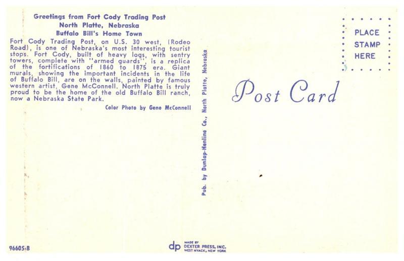 Nebraska North Platte , Fort Cody Trading Post