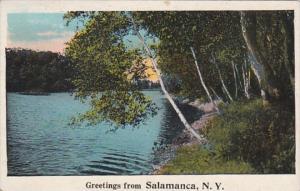 New York Greetings From Salamanca