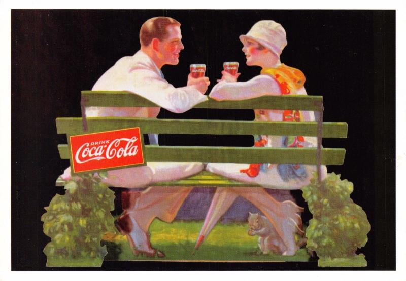 Postcard Drink Coca-Cola 1928 Advert Reproduction Card No.2392