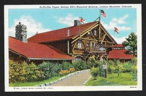 Buffalo Bill Memorial Museum Lookout Mtn CO unused c1941