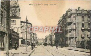 Postcard Old Toulouse Rue Ozenne
