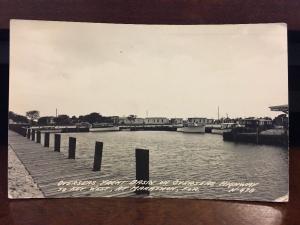 RPPC 1951 Overseas Yacht Basin, Overseas Highway To Key West, Marathon, FL. Z3