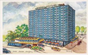 Exterior,  Hotel Statler,  Hartford,  Connecticut,  40-60s
