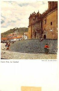 La Catedral Cuzco Postal Used Unknown