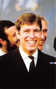 Prince Andrew of Great Britain Unused