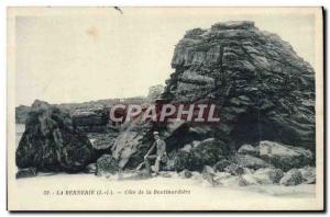 Old Postcard La Bernerie Approval of Boutinardiere