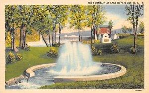 The Fountain at Lake Hopatcong in Lake Hopatcong, New Jersey