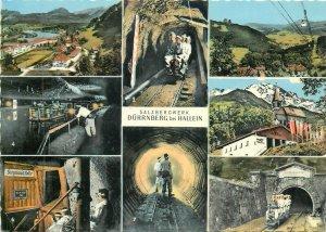 Austria Salzbergwerk Durrnberg bei Hallein mine minning insustry semi-modern