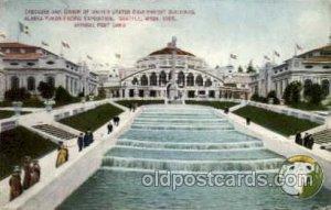 Alaska - Yukon Pacific Exposition, Seattle Washington, USA Postcard Post Card...