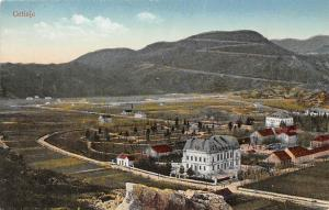 Montenegro, Cetinje, general aerial view, panorama