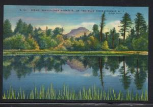 North Carolina colour PC Grandfather Mountain Blue Ridge Parkway unused