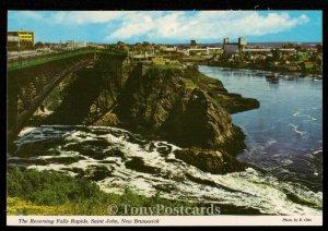 The Reversing Falls Rapids, Saint John, New Brunswick