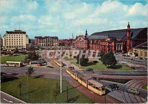 Postcard Modern Tramway Bremen