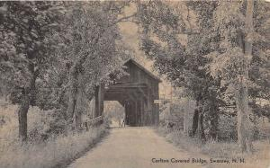 25338 NH, Swanzey, Carlton Covered Bridge