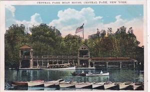 New York City Central Park Boat House