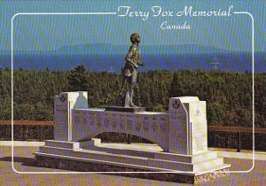 Terry Fox Memorial Thunder Bay Ontario Canada