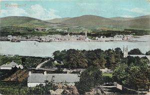 Warrenpoint Ireland~View from Distance~1910 Postcard