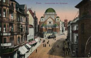 germany, ESSEN, Steelerstrasse, Jewish Synagogue (1920) JUDAICA