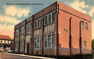 Pennsylvania Freeland St Ann's Parochial School