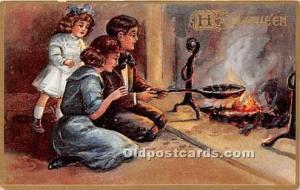 Halloween Postcard Old Vintage Antique Postcard Post Card 1910