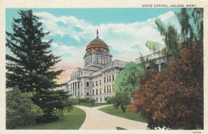 HELENA , Montana , 1910-20s ; State Capitol