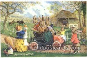 Racey Helps Post Card, Artist Signed Post Card Old Vintage Antique, PK 240  P...