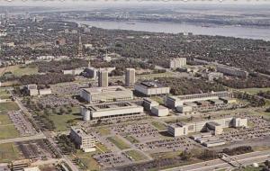 Cite Universitaire, Laval University, Ste-Foy, Quebec, Canada, 40-60s