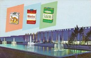 North Carolina Winston Salem R J Reynolds Tobacco Company 1967