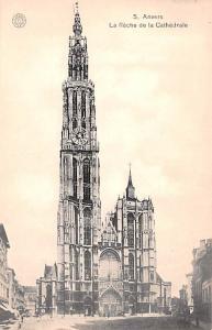 Anvers Belgium, Belgique, Belgie, Belgien La Fleche De La Cathedrale Anvers L...
