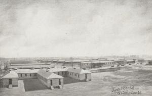 CAMP LEE, Virginia, 1910-20s; View of Base Hospital # 2