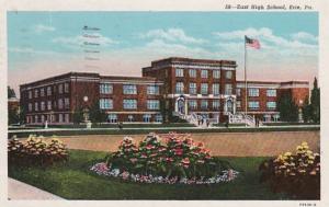 Pennsylvania Erie East High School 1949 Curteich