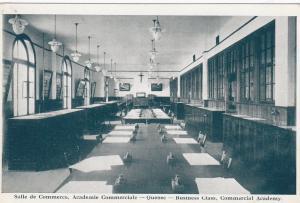 Salle de Commerece, Academie Commerciale, Quebec , Canada , 20-30s