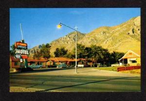 UT El Rancho Provo Motel UTAH POSTCARD POST CARD PC
