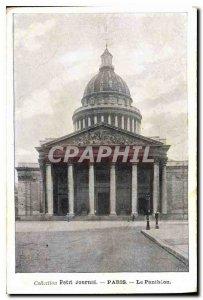Postcard Collection Old Diary Paris Pantheon