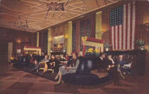 Interior-Bismarck Hotel, Randolph At La Salle, Chicago, Illinois, 1930-1940s